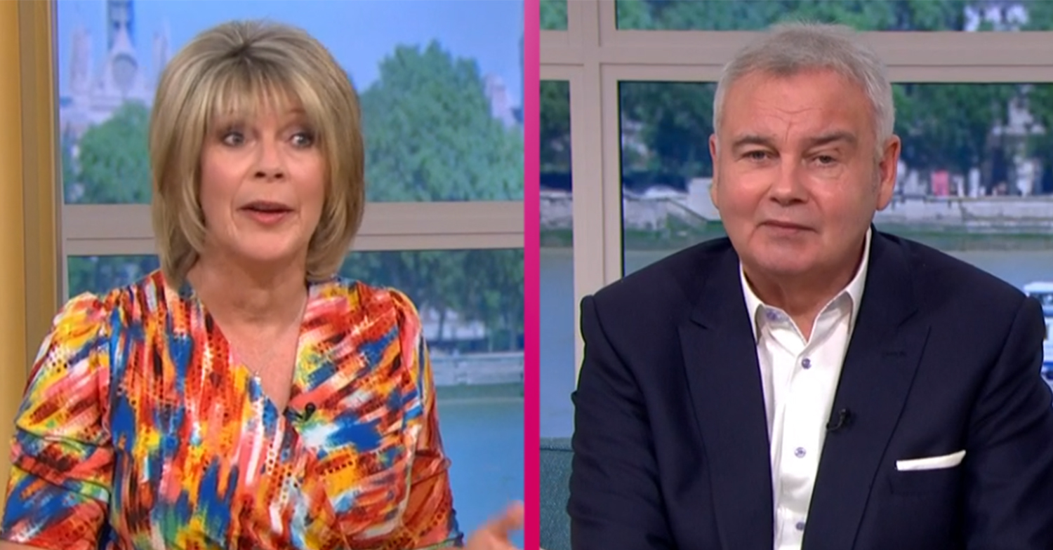 Ruth Langsford calls out Eamonn Holmes for 'sexist' comment on This Morning