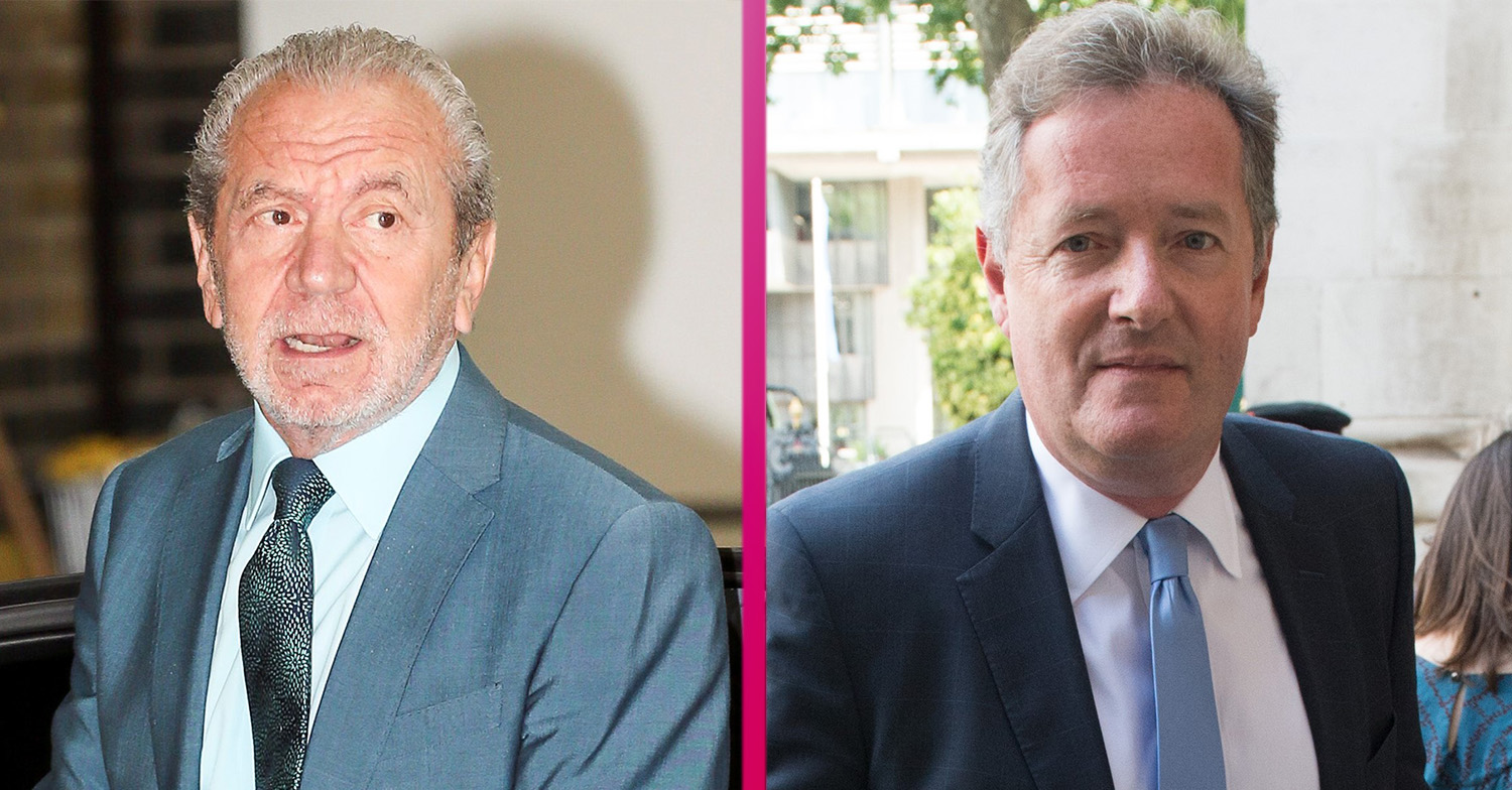 Lord Sugar mocks Piers Morgan after he's left on crutches following painful holiday injury