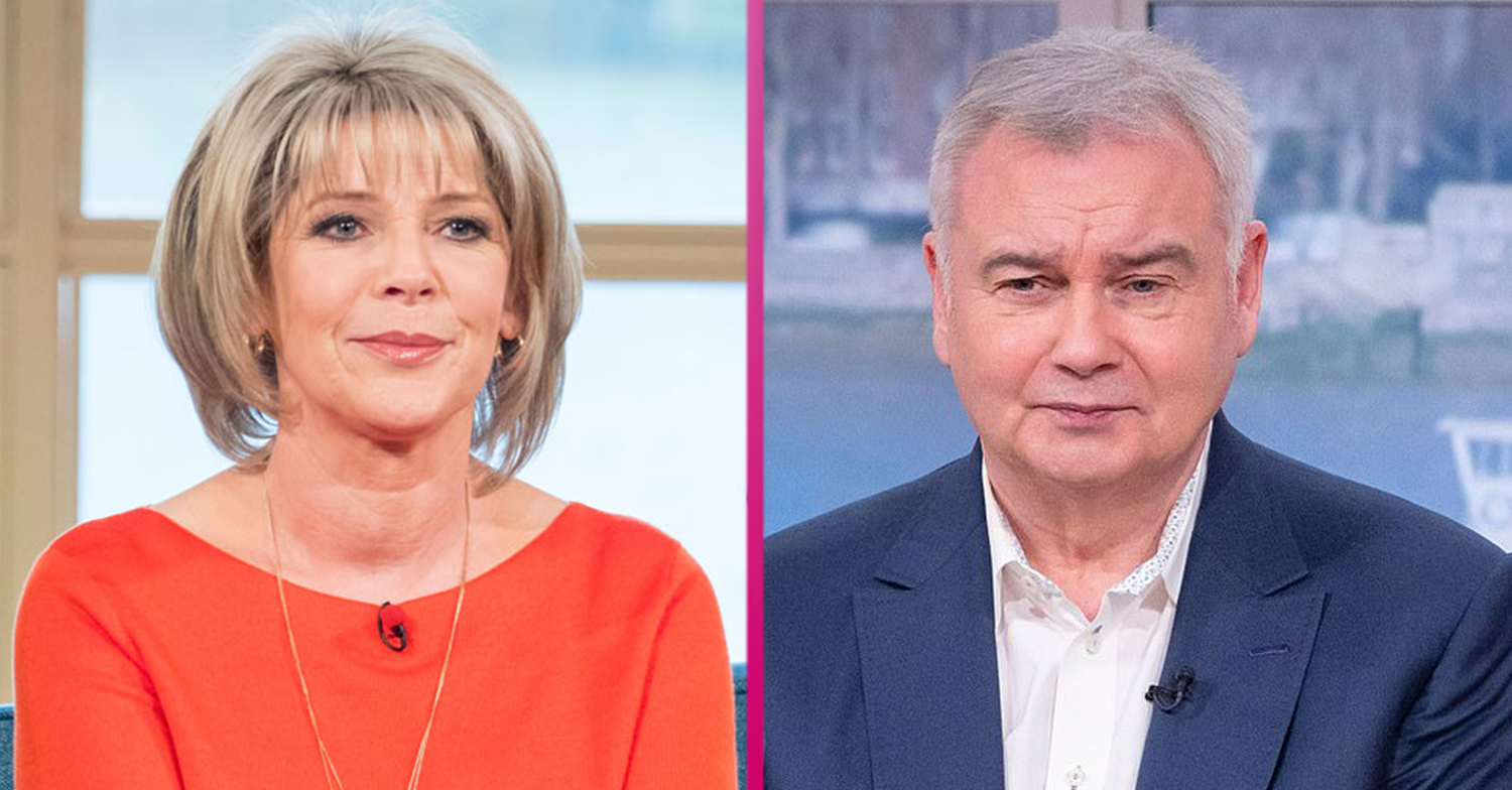 Ruth Langsford reveals Eamonn Holmes' 'cheeky' comments as she attempts to take up running