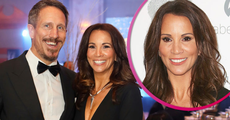 Andrea McLean and husband