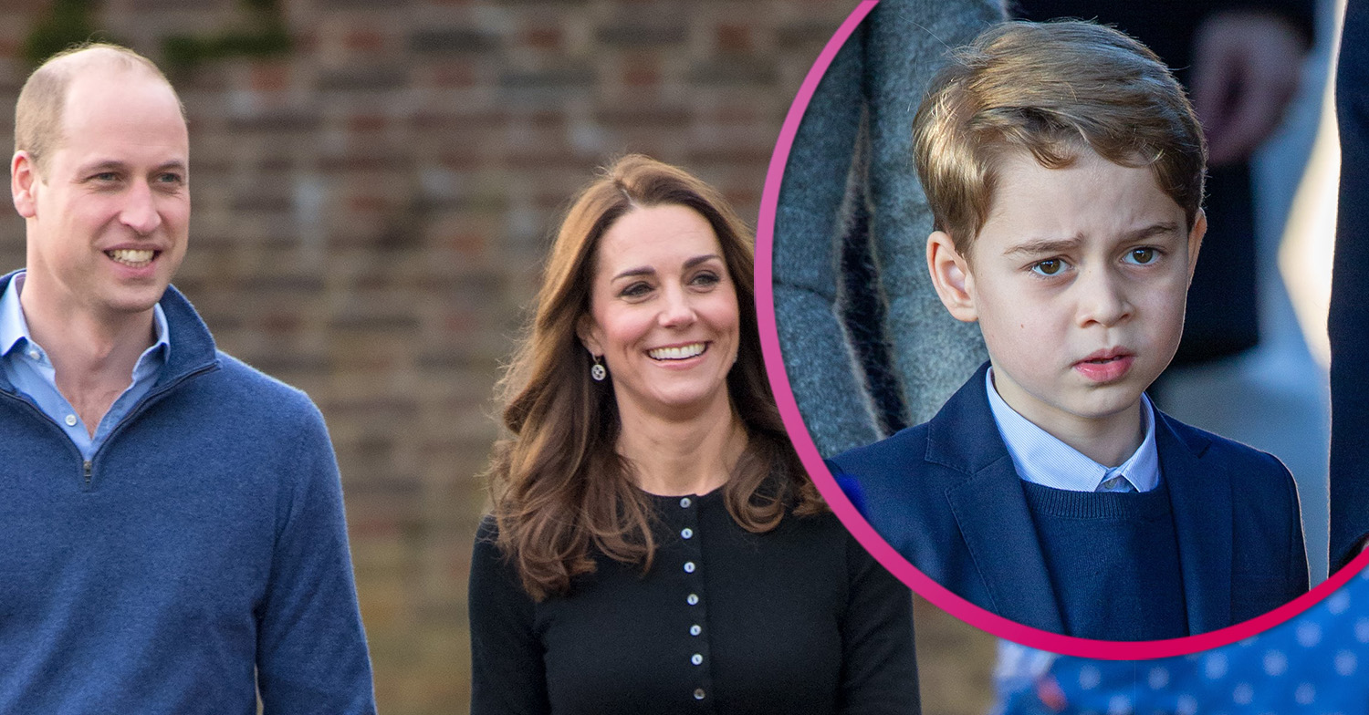New Prince George photo shows he's the 'spitting image' of dad Prince William on seventh birthday