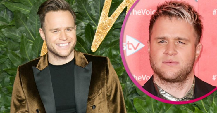 Olly Murs blond hair