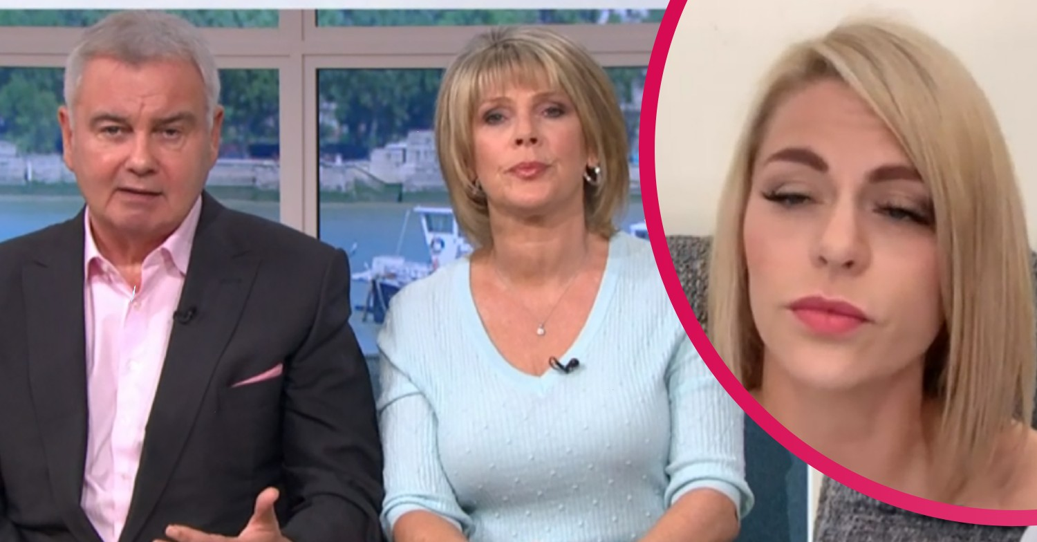 Eamonn Holmes and Ruth Langsford interview woman on This Morning who won't work with obese people