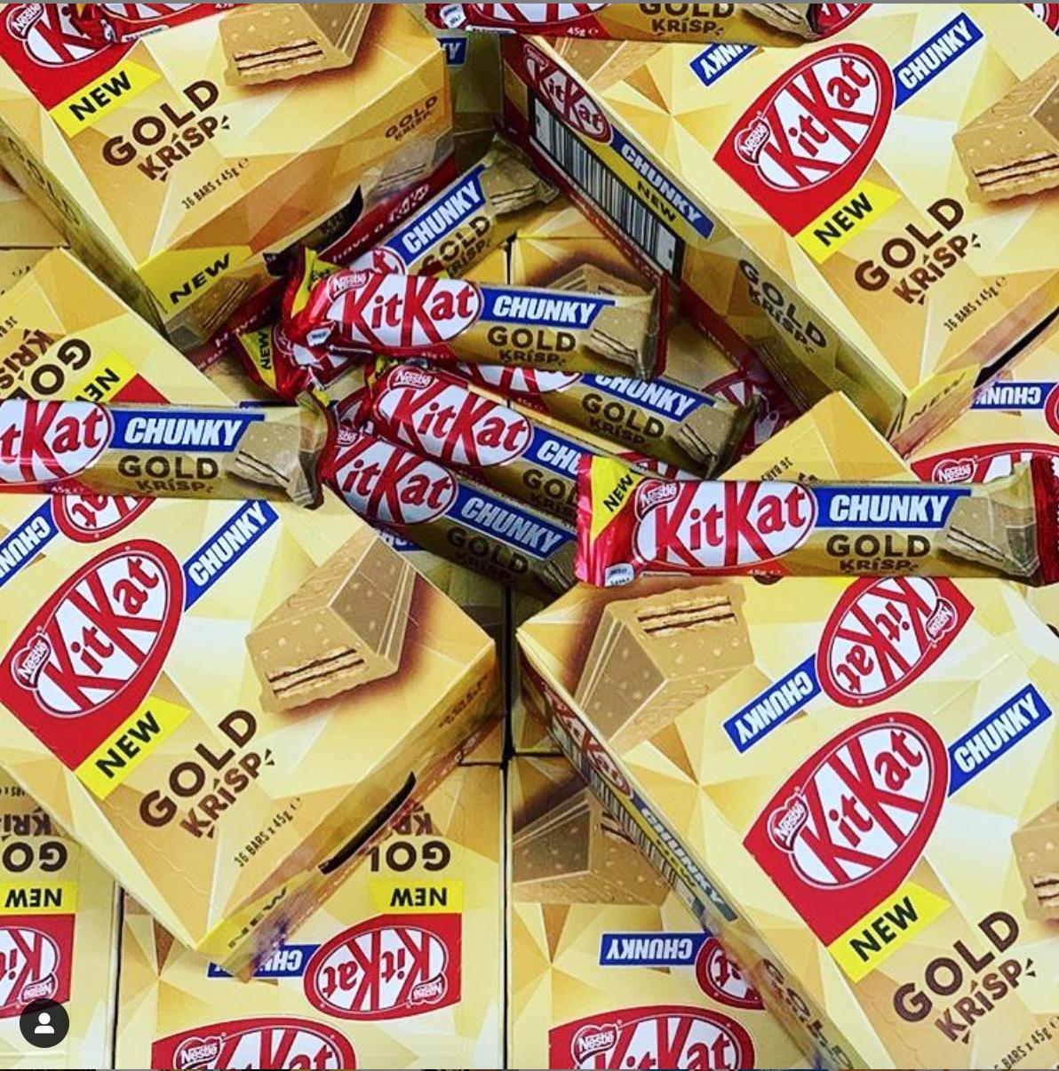 new KitKat Chunky