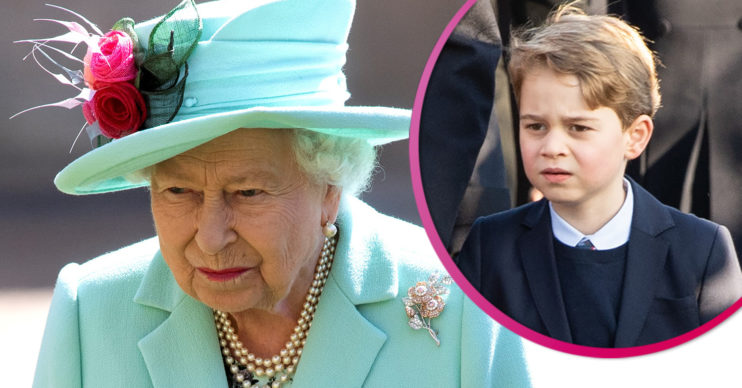 The Queen sends message for Prince George's birthday