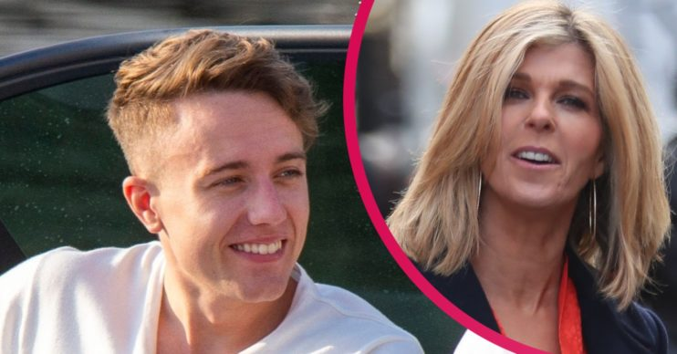 Roman Kemp and Kate Garraway