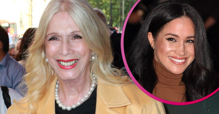 Lady Colin Campbell and Meghan Markle
