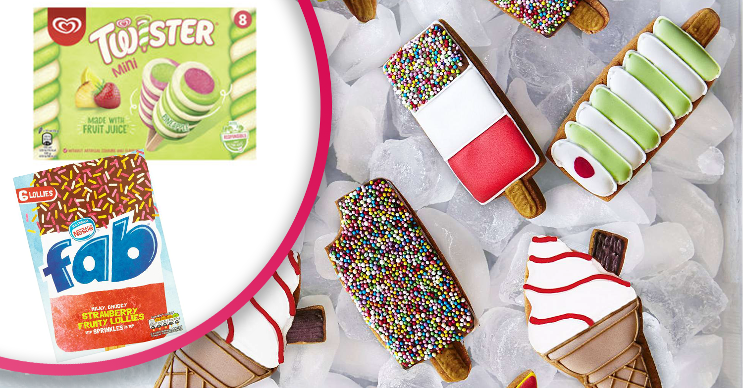 Biscuits that look like retro ice lollies exist and you'll want to eat them all