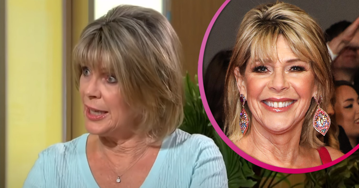 Ruth Langsford hits back as This Morning fan complains about her 'frumpy' outfits