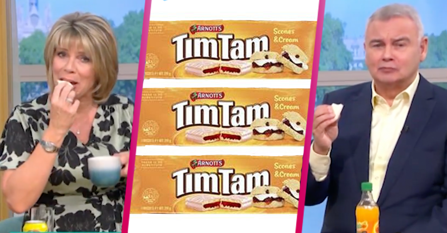Eamonn and Ruth announce Australian Tim Tam biscuits are 'coming to the UK'