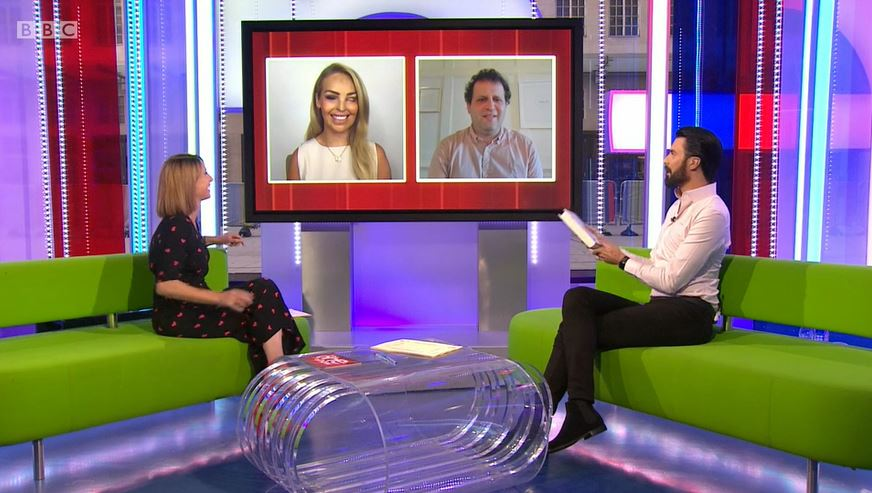 Katie Piper on The One Show