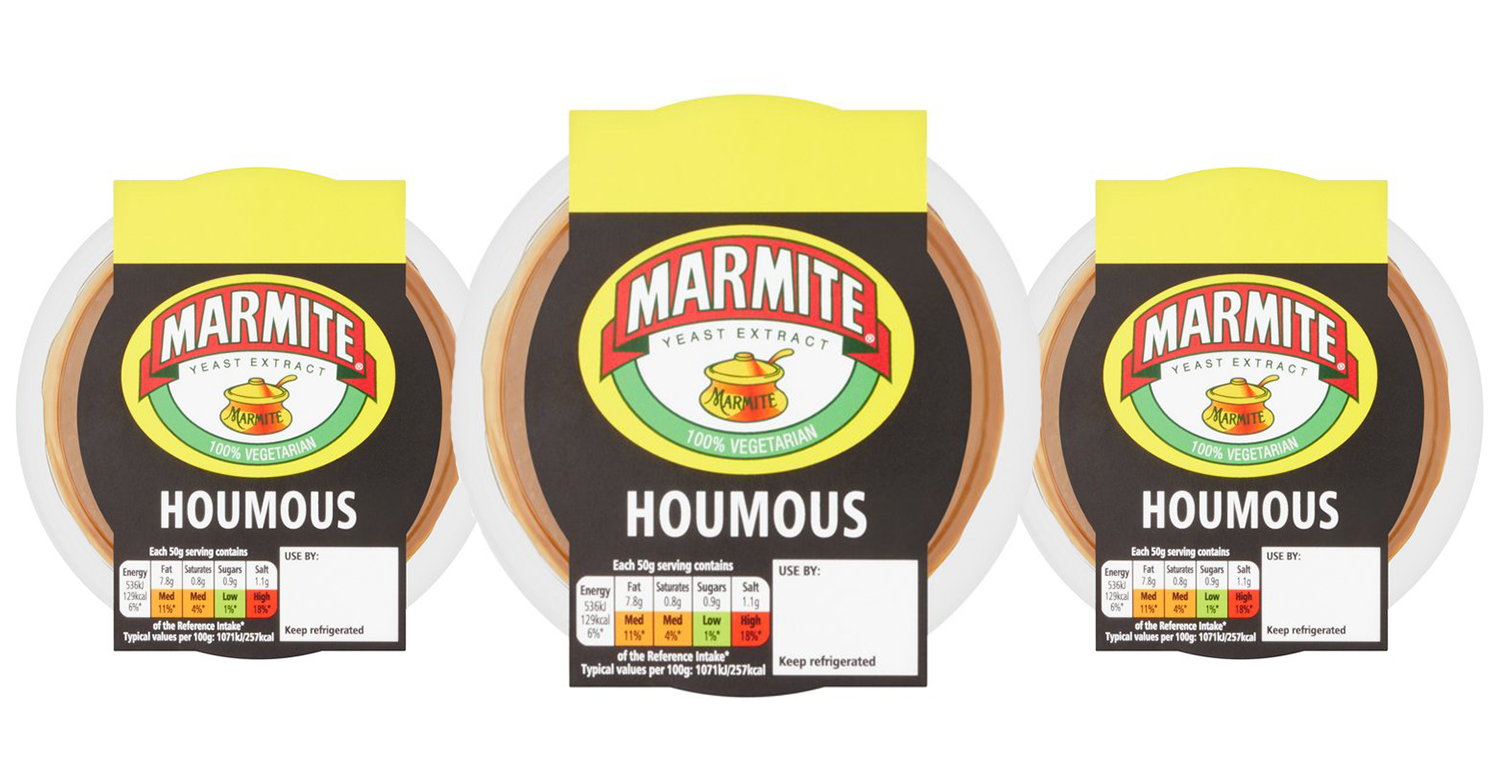 Marmite HUMMUS is on sale at Tesco and shoppers are disgusted