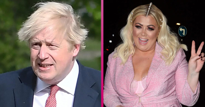 Gemma Collins tells Boris Johnson to 'move over' in a bid to become Prime Minister