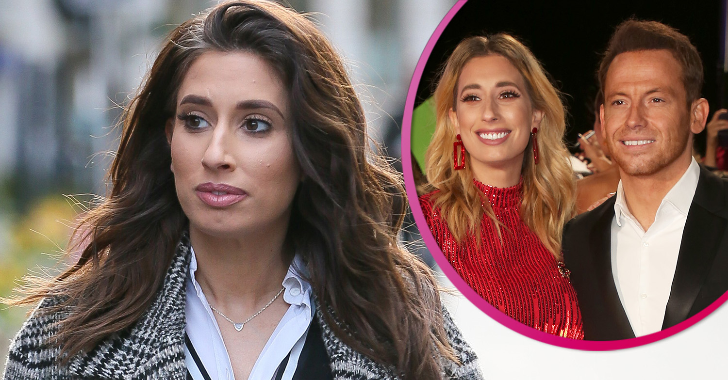 Stacey Solomon says emotional goodbye to Joe Swash as he goes on holiday without her