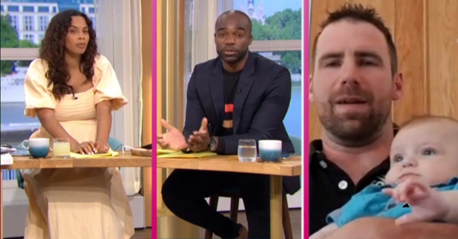 Baby Lucifer divides This Morning viewers as his father defends name