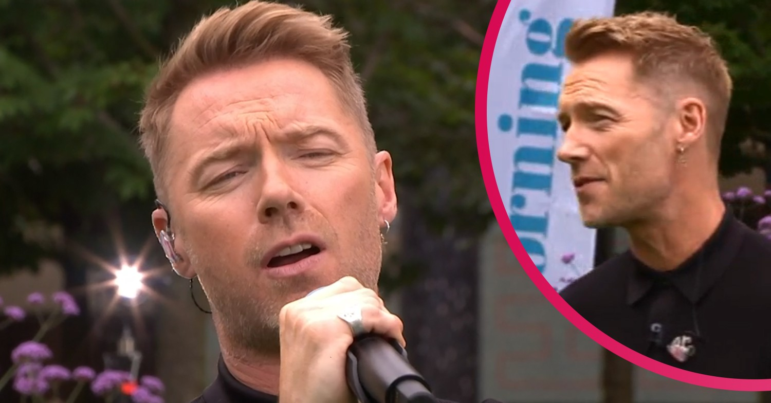 Ronan Keating's earring distracts This Morning viewers