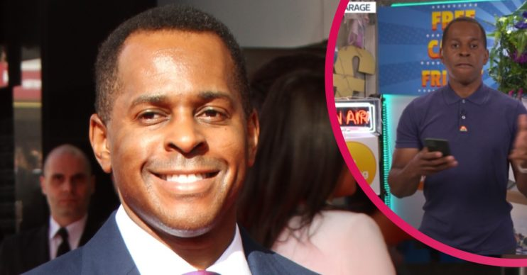 Andi Peters age credit: Splash News ITV
