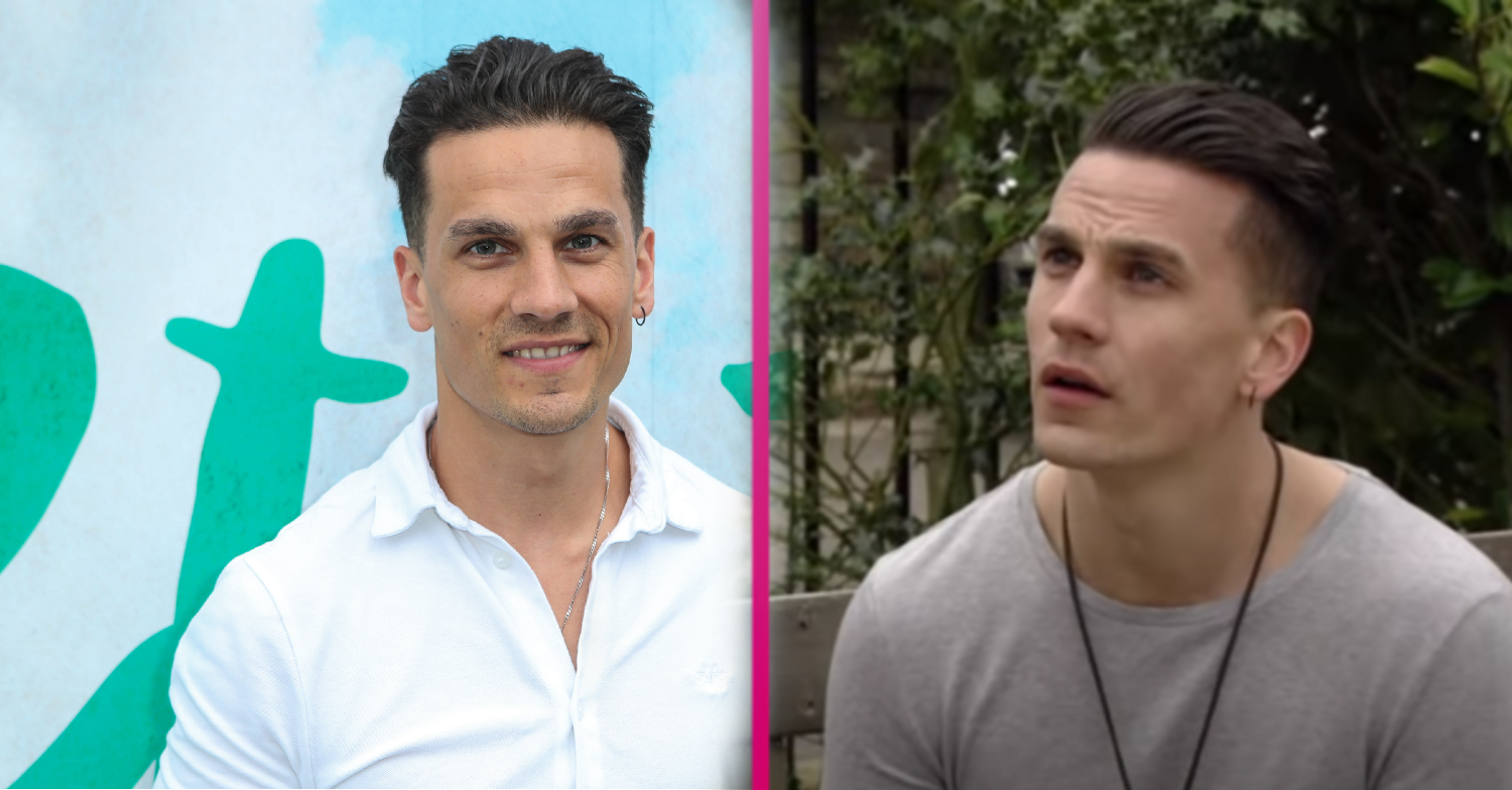 Former EastEnders star Aaron Sidwell 'splits from fiancée Tricia'