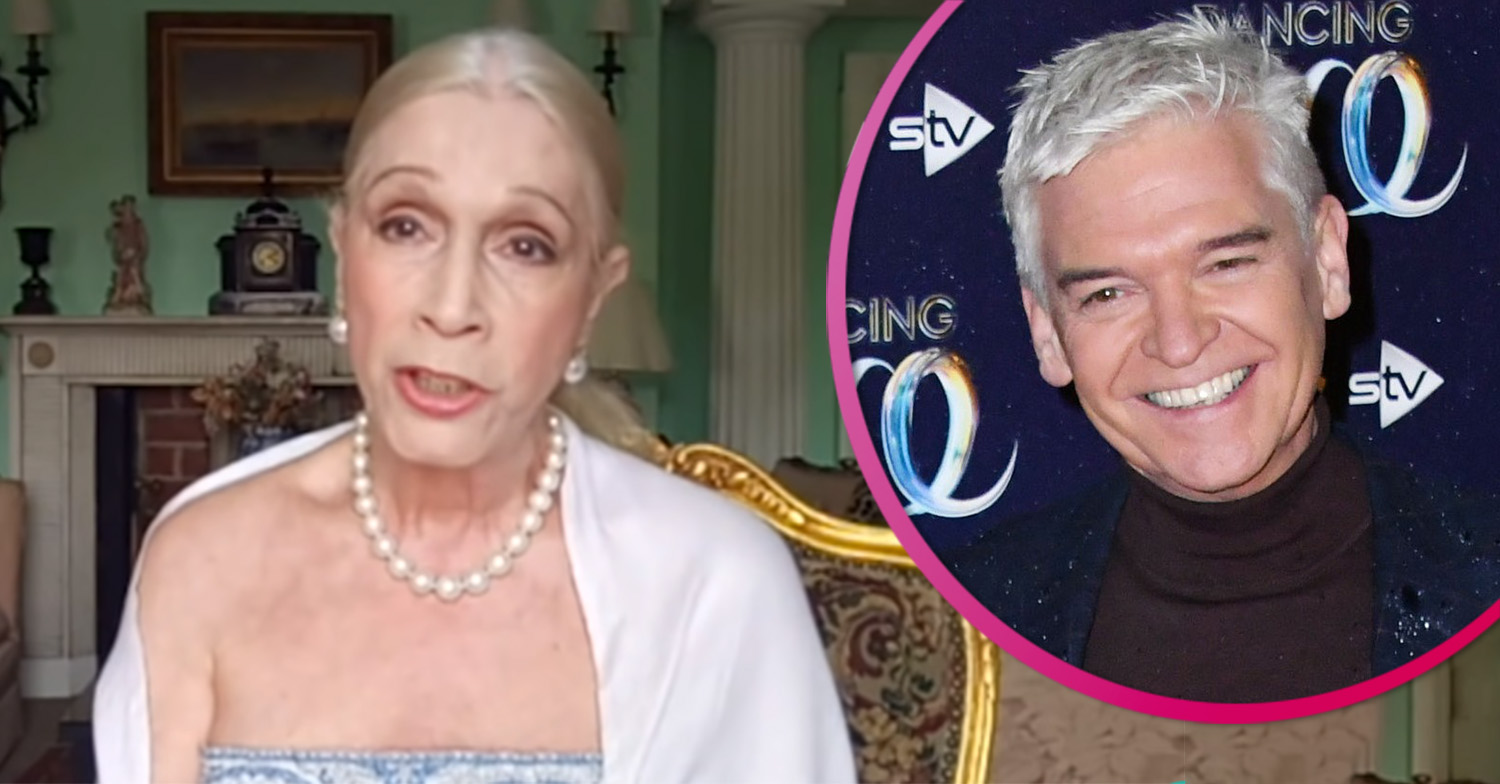 Lady C launches another attack on 'creep' Phillip Schofield as 'feud' escalates