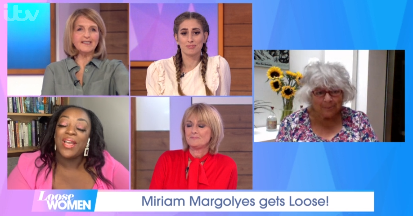 Miriam Margolyes on Loose Women