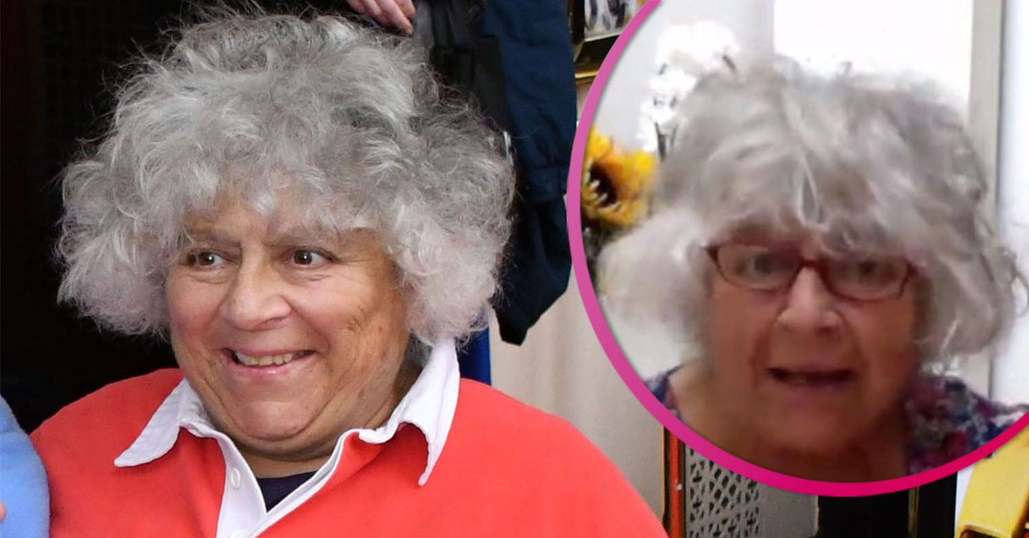 Miriam Margolyes concerned she's 'losing her marbles' as she reveals Alzheimer's fears