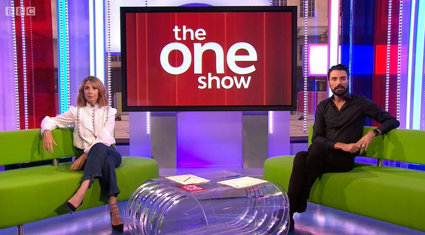 Rylan on The One Show