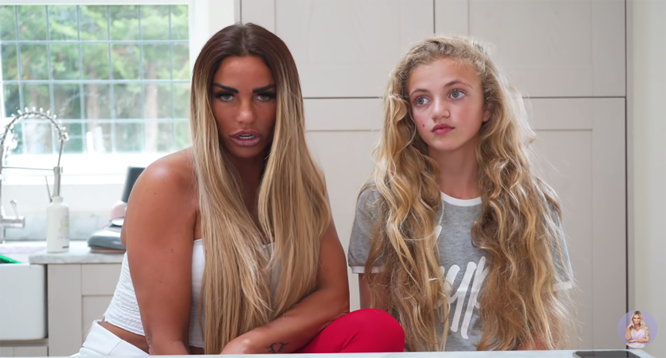 Katie Price and Princess talk about puppy