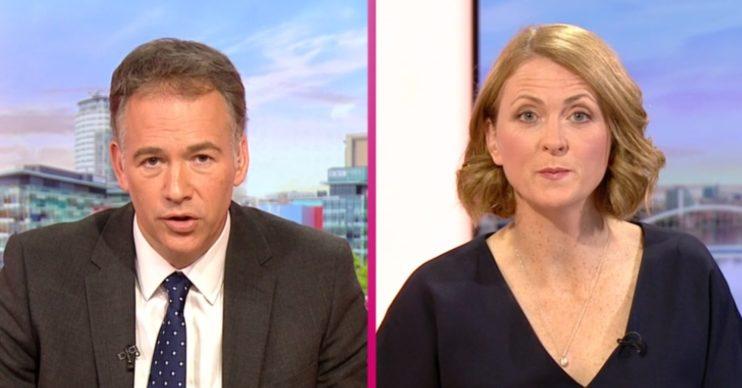 BBC Breakfast presenters Roger and Rachel