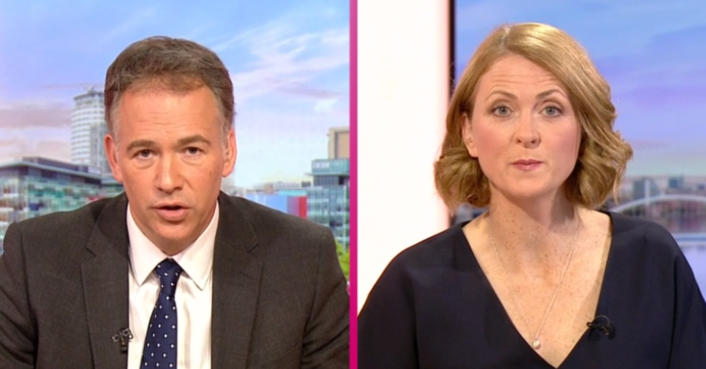 BBC Breakfast: Viewers divided over presenters Roger Johnson and Rachel Burden