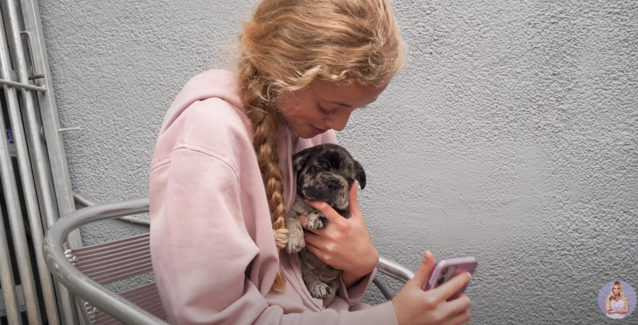 Princess and puppy
