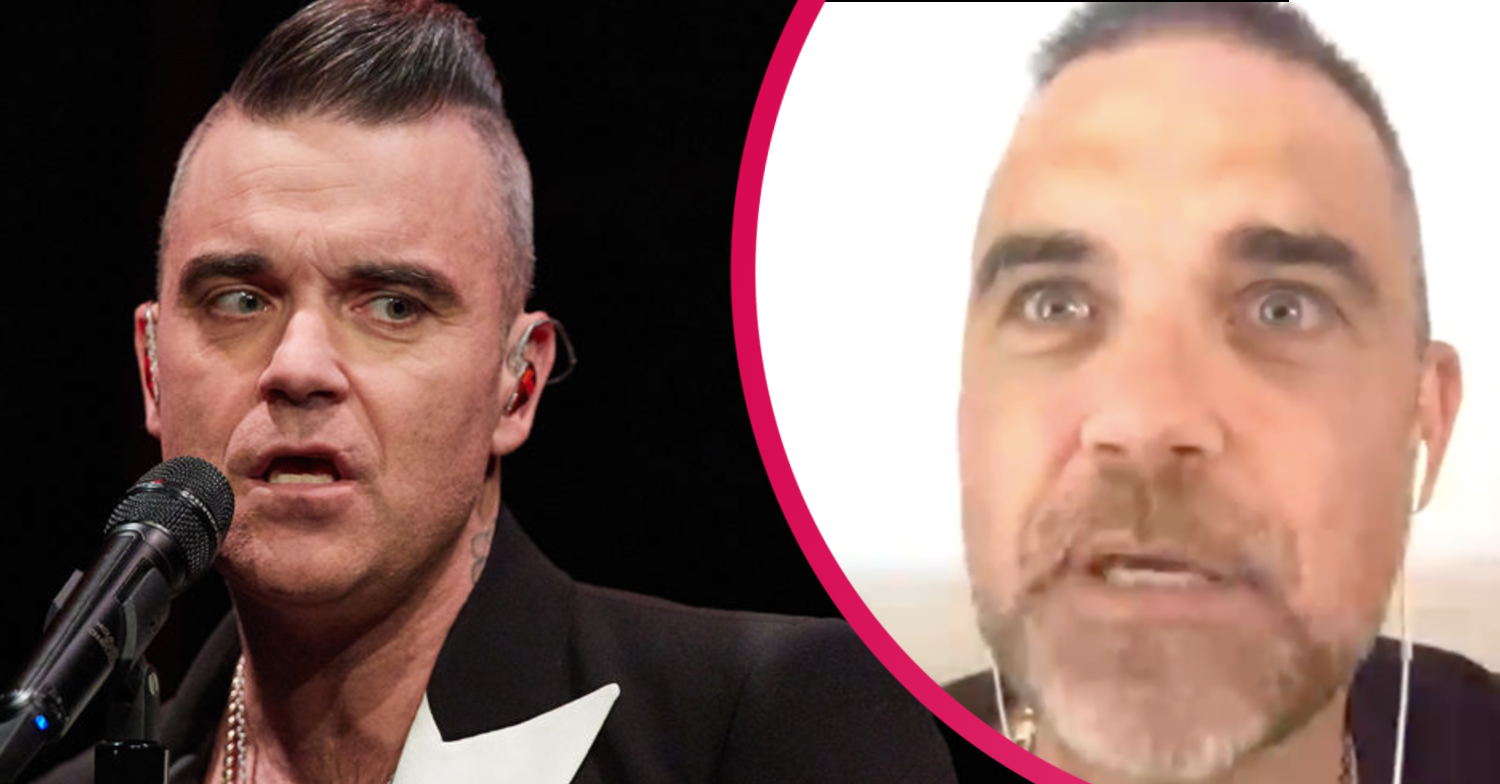 Robbie Williams fans defend singer as trolls mock his Soccer AM appearance