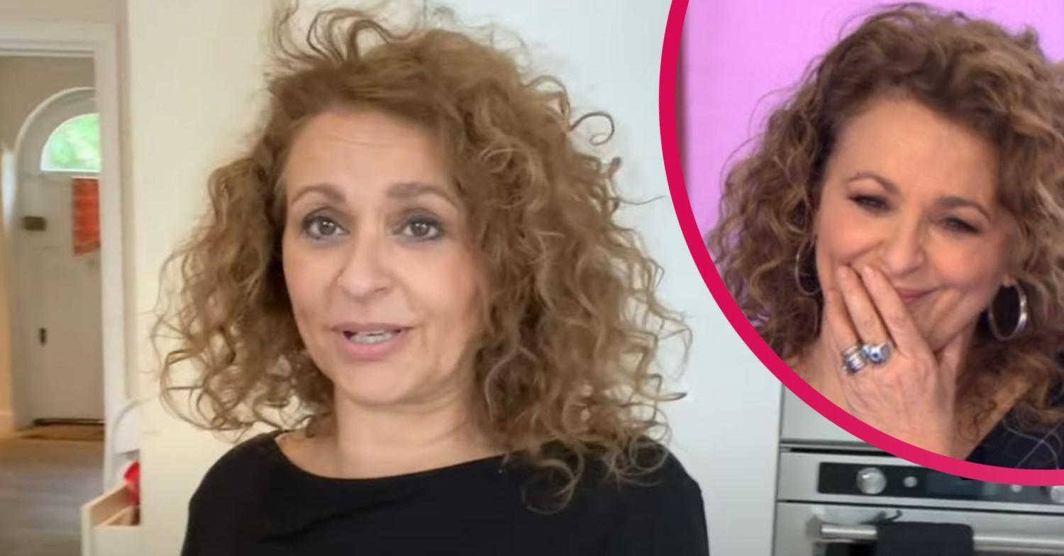 Nadia Sawalha risks wetting herself during 'off the scale' traffic jam