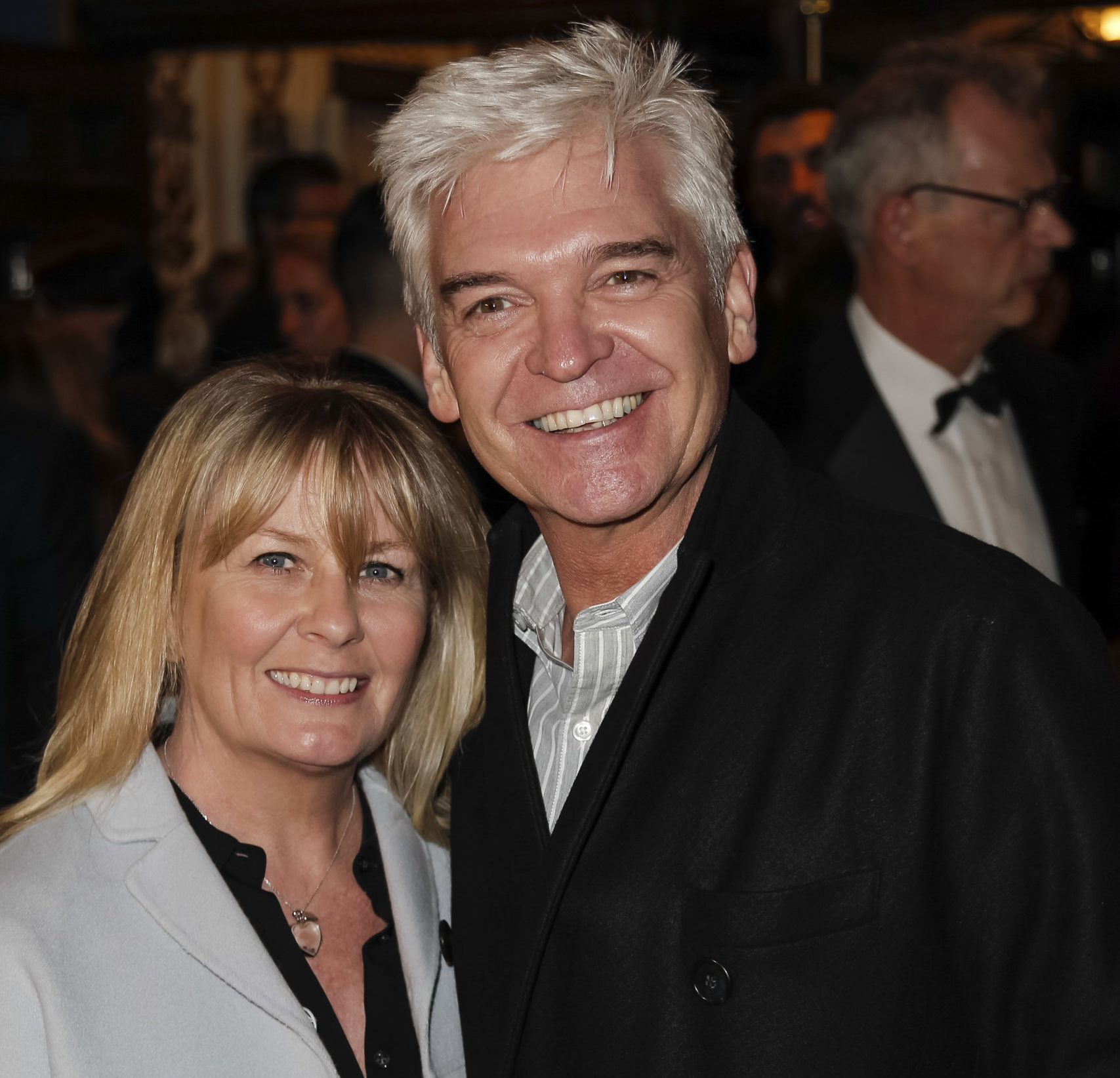 Philip Schofield and wife Stephanie Lowe