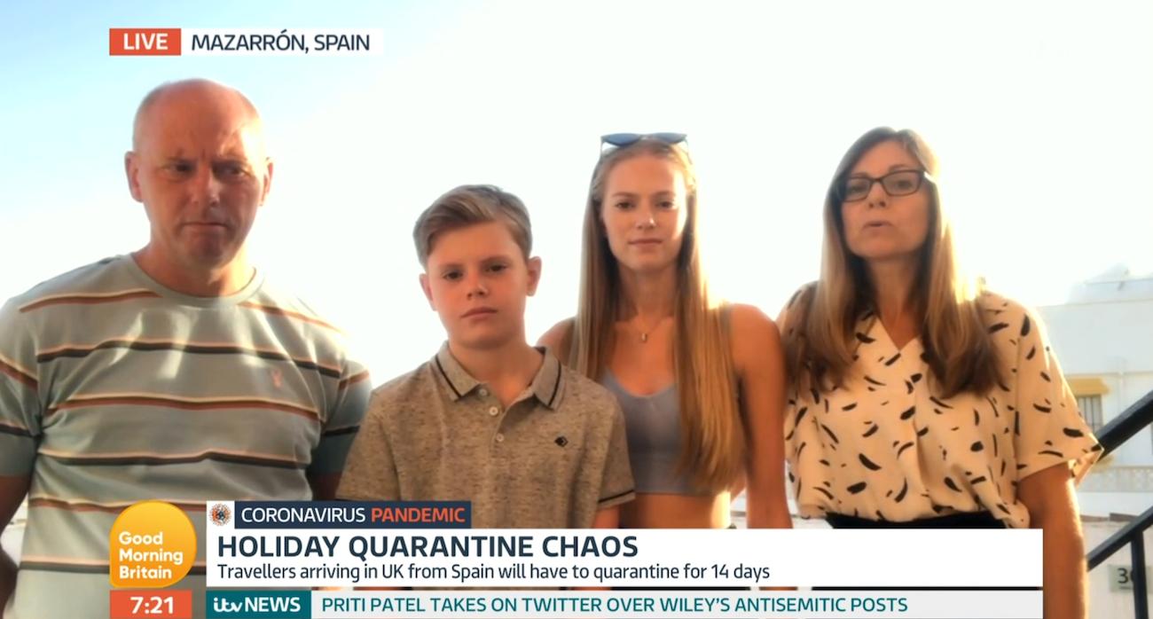 GMB quarantine family