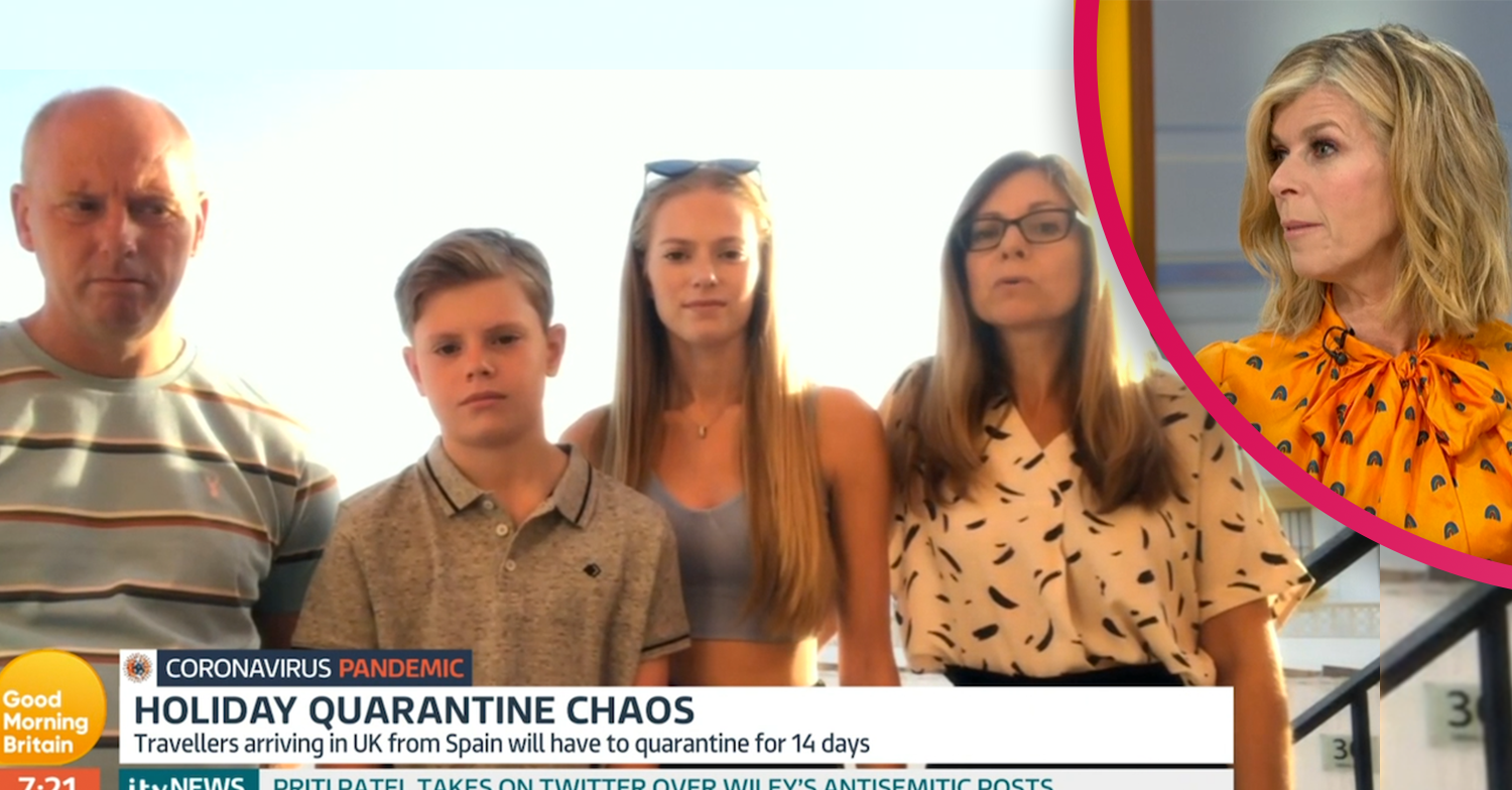 GMB viewers lash out at family facing quarantine nightmare