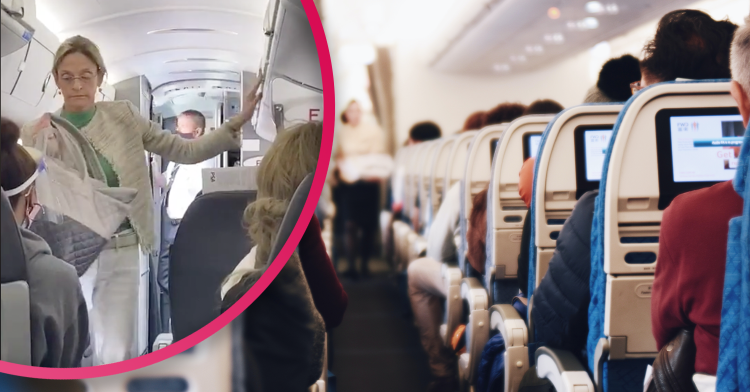 Face masks furore: 'Argumentative' woman kicked off flight for refusing to wear one