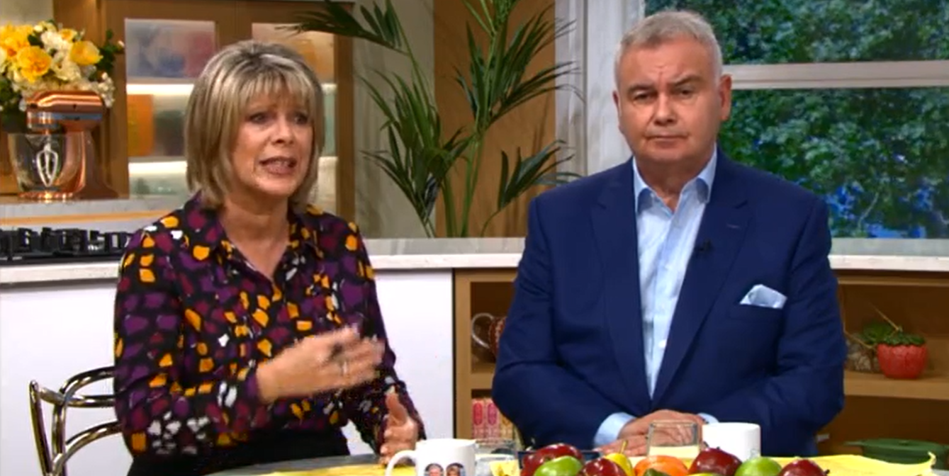 Ruth Eamonn This Morning ITV