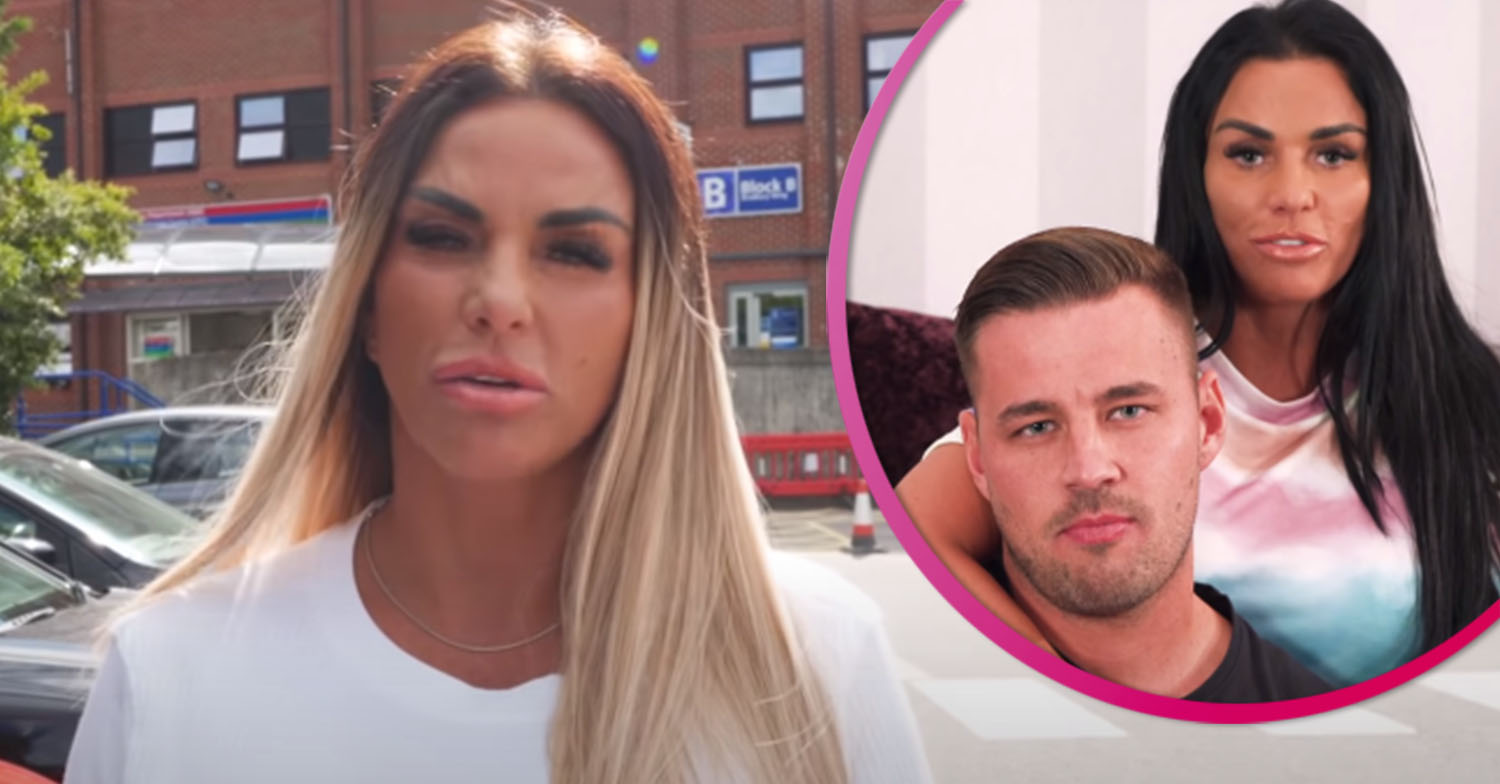 Katie Price gushes over new boyfriend and kids as she jets off on family holiday