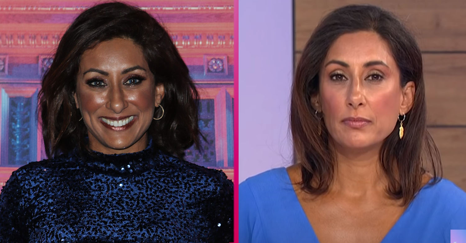Saira Khan reveals weight loss as she poses topless at wellness retreat