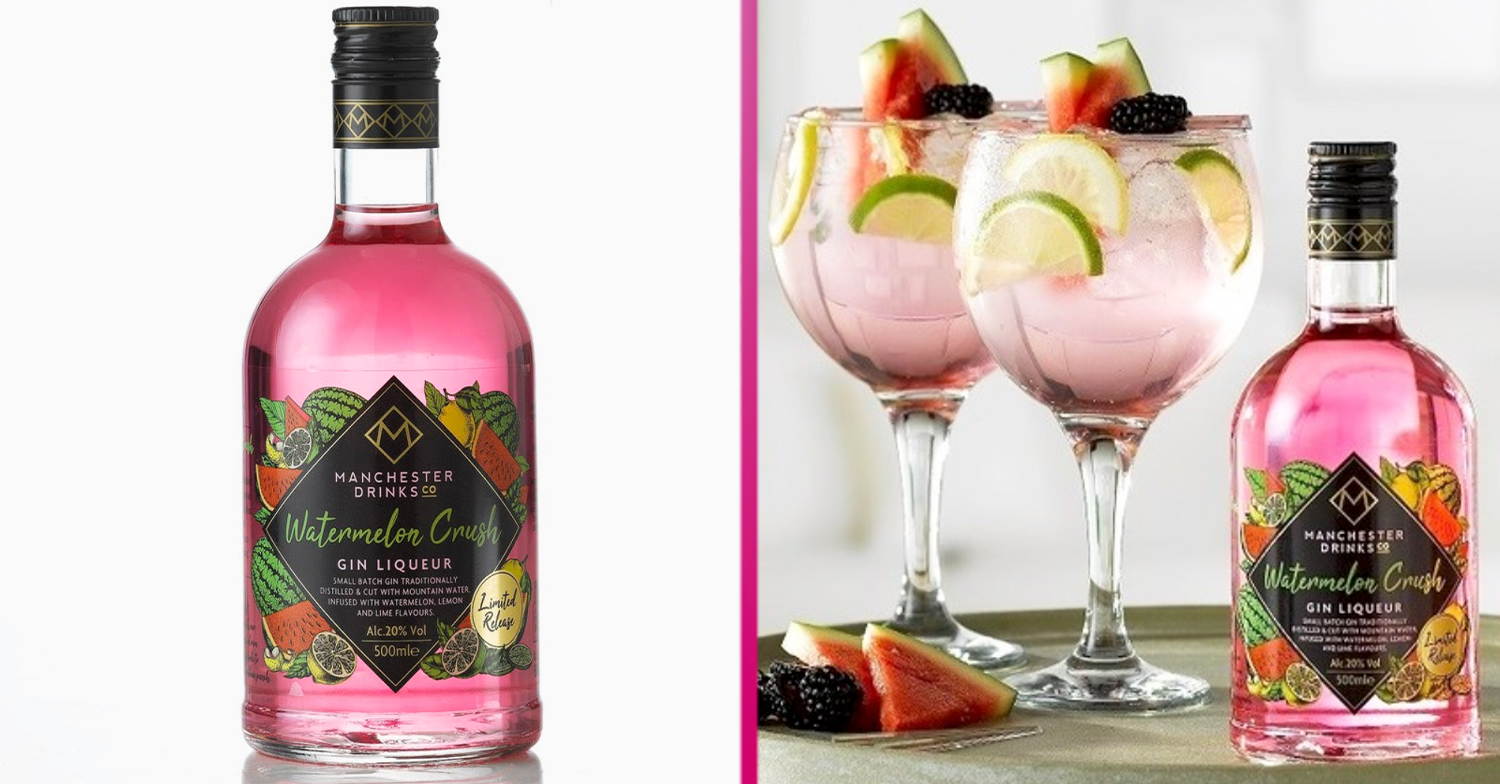 Home Bargains launches new Watermelon Crush Gin Liqueur and it costs £7.99 a bottle