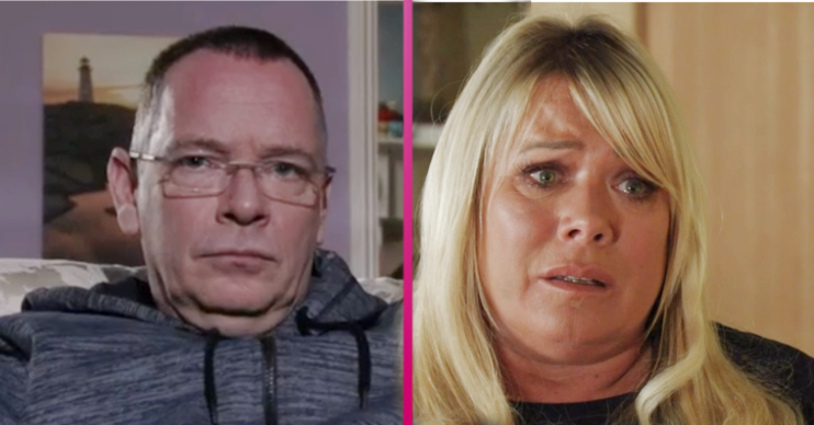 Ian and Sharon and Dennis EastEnders