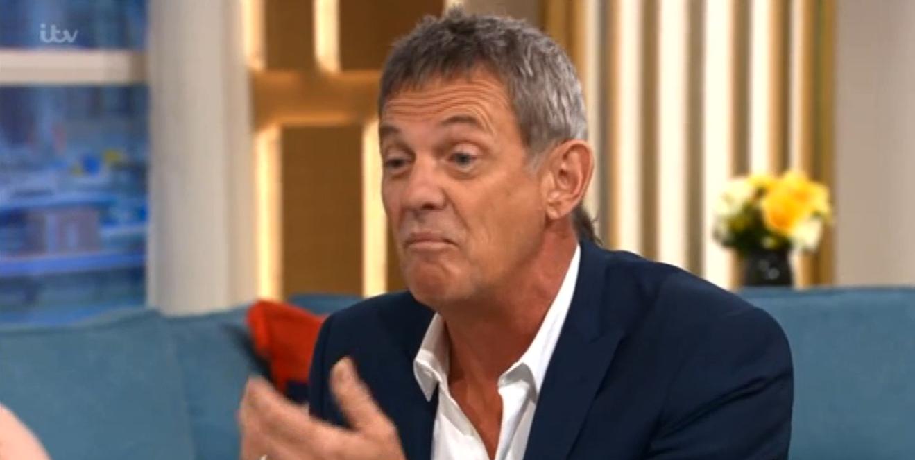 Matthew Wright on This morning hair Credit: ITV