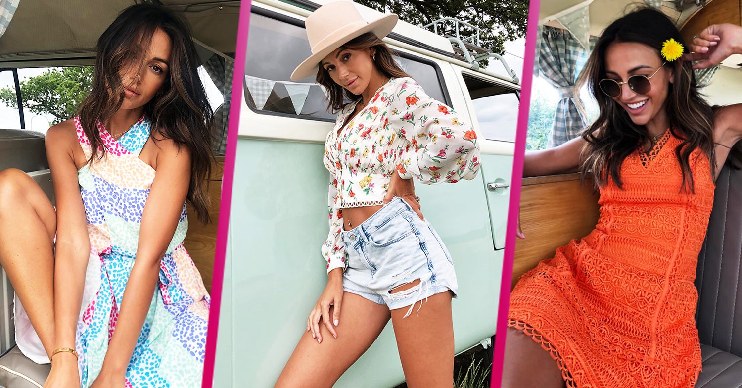Michelle Keegan is a 'solid 15/10' as she launches new summer collection for Very