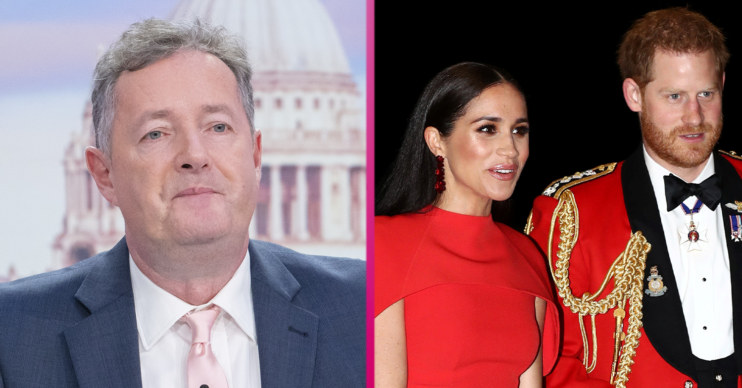 Piers Morgan Meghan Markle Prince Harry book