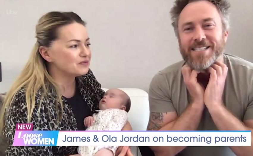Ola and James Jordan on Loose women