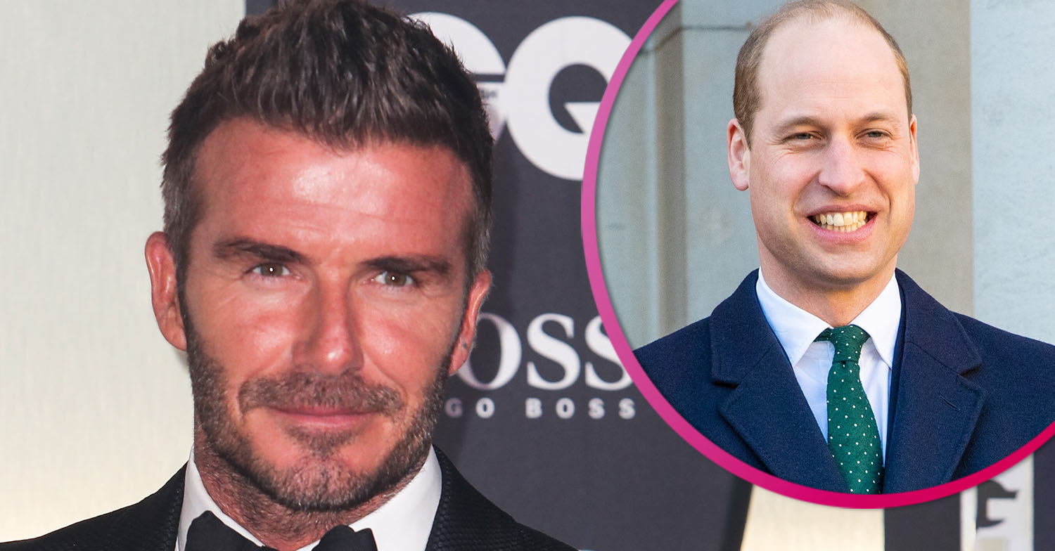 David Beckham and Prince William thrill fans as they bond in video call