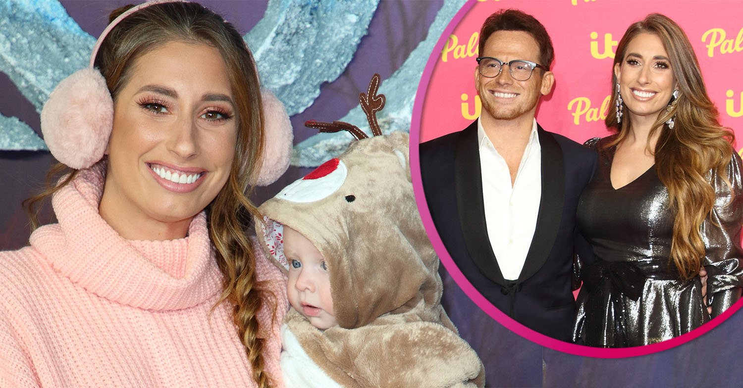 Stacey Solomon shares adorable moment son Rex video calls dad Joe Swash as he's on holiday