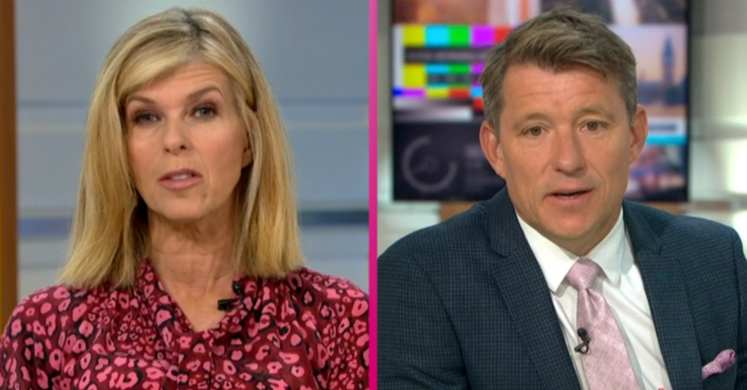 GMB almost forced off air as power cut sends Kate Garraway and Ben Shephard into darkness
