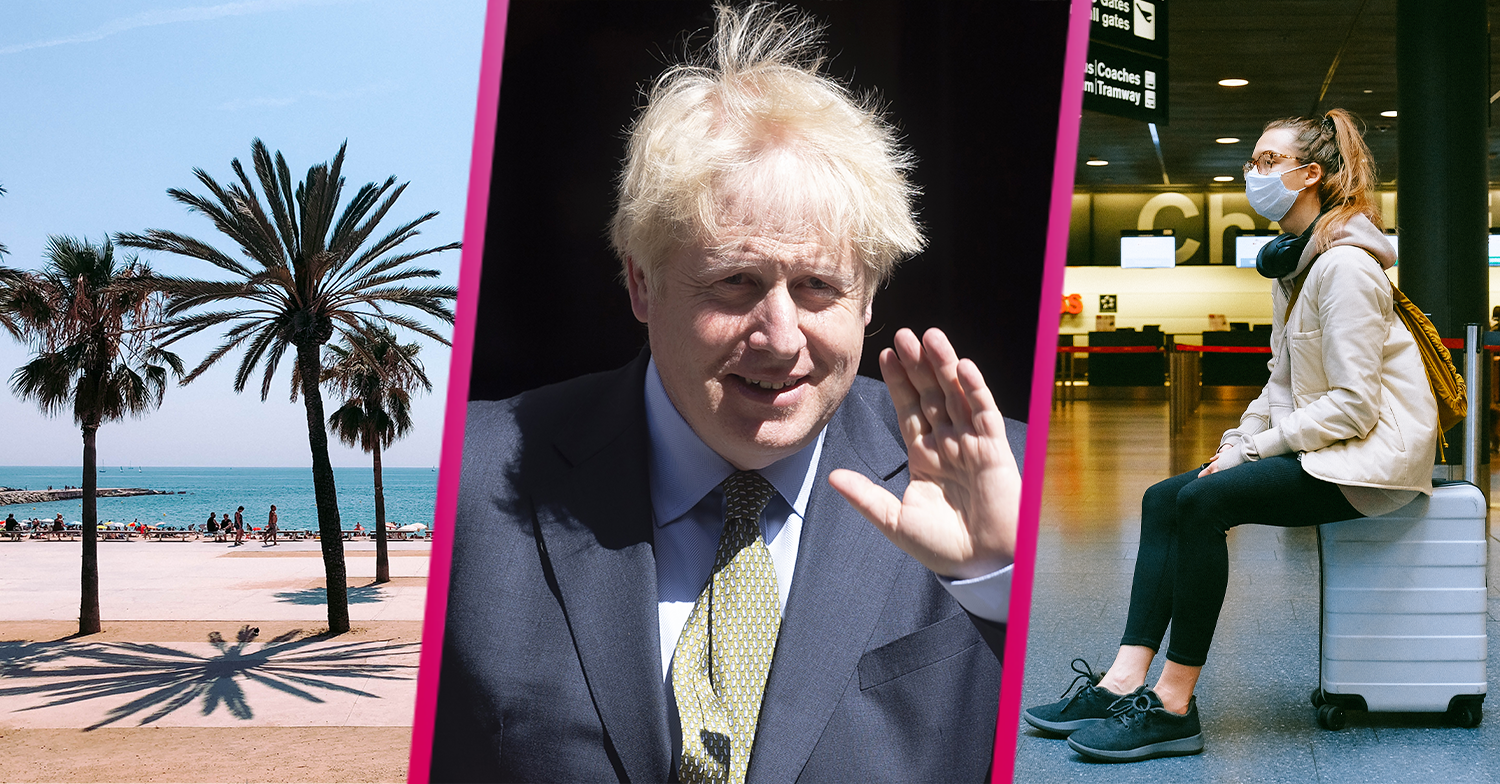 Boris Johnson says Europe is on the verge of a second wave and urges Brits to be 'vigilant'