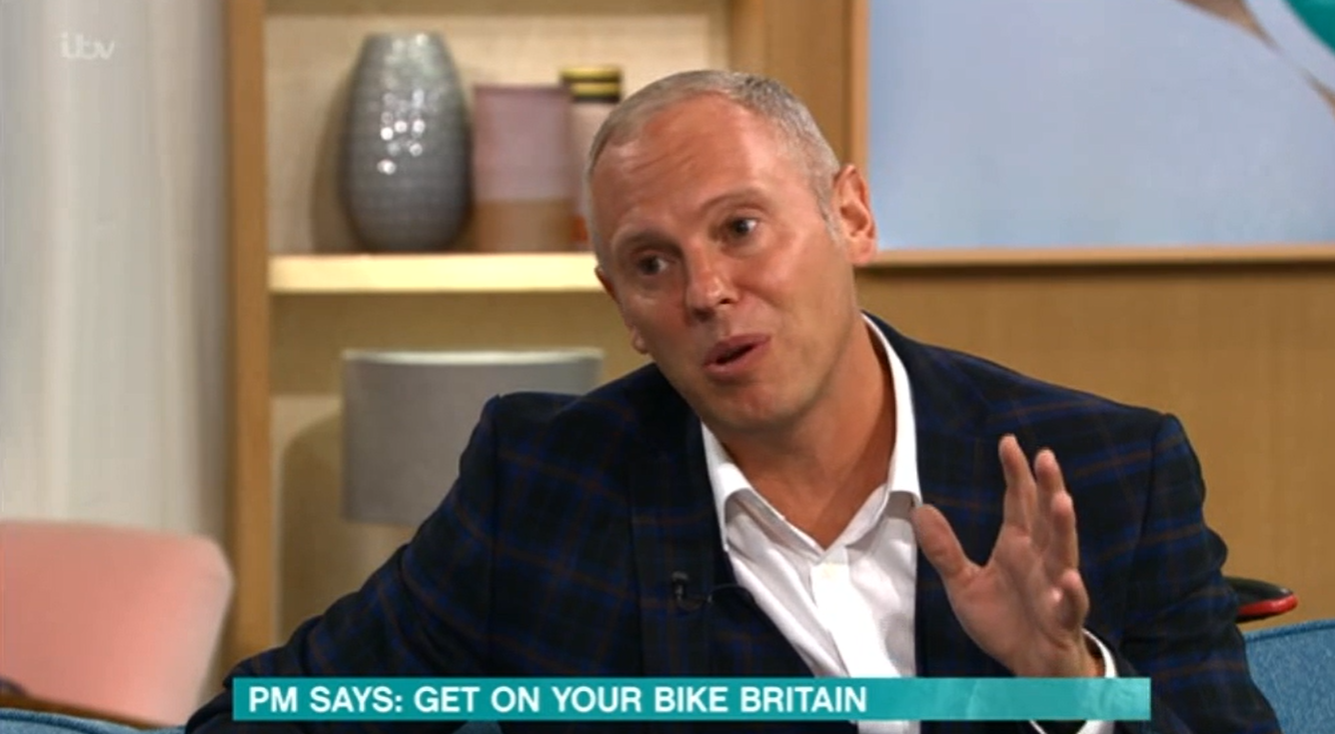 Kevin Adams shirt on This Morning ITV